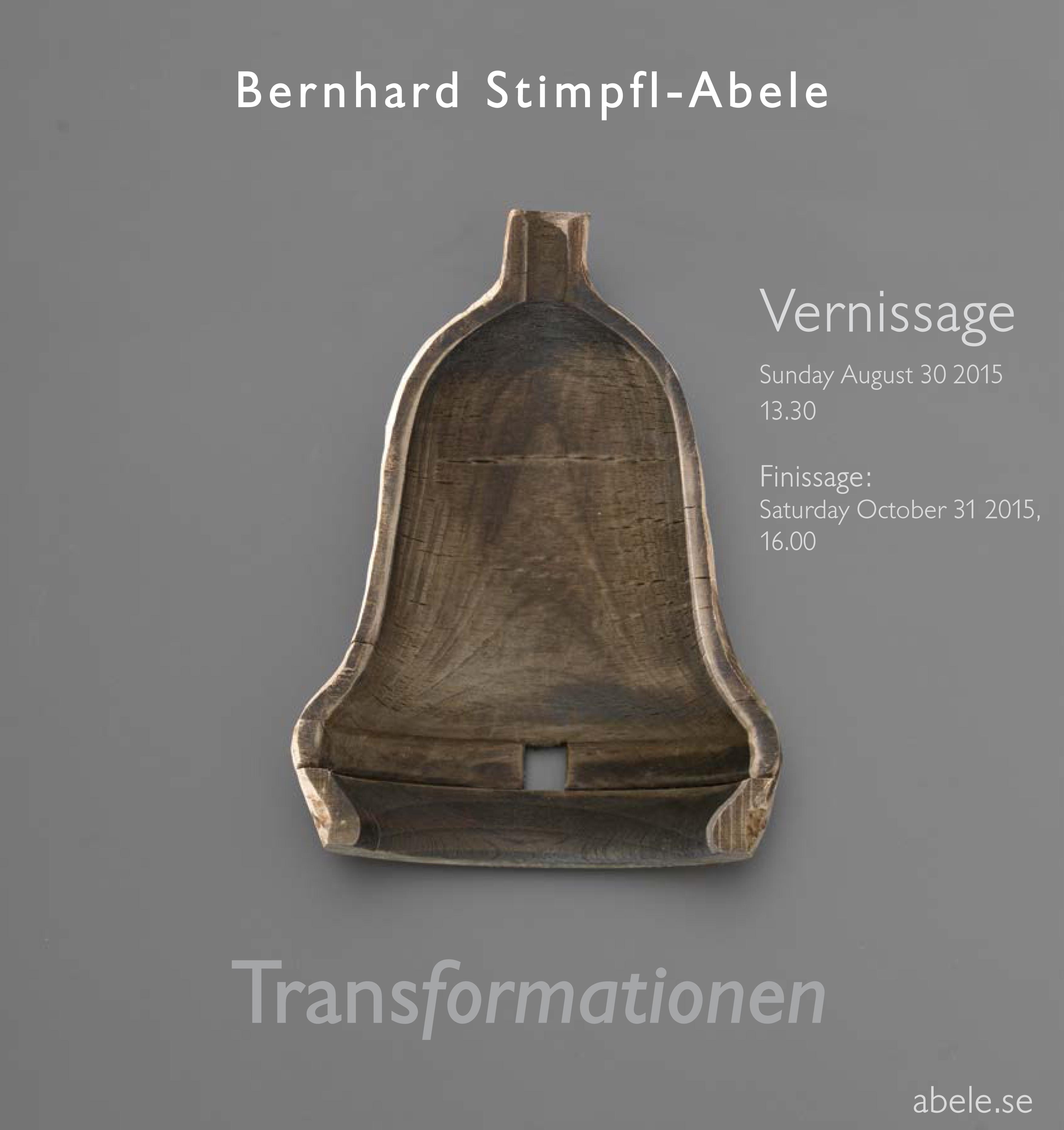 Transformationen - Schmuckausstellung Bernhard Stimpfl-Abele